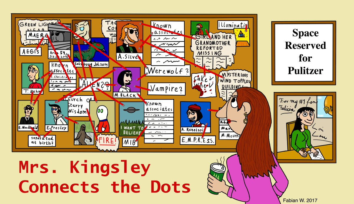 Mrs. Kingsley Connects the Dots
